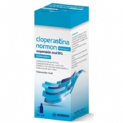 CLOPERASTINA NORMON 3,54 mg/ml SUSPENSION ORAL EFG, 1 frasco de 120 ml