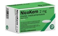 NICOKERN 2 MG CHICLES MEDICAMENTOSOS SABOR MENTA , 108 chicles (PVC/PE/PVDC/AL)