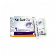 Kamisan ofta sin conservante higiene periocular - gasas algodon impregnadas en solucion (28 compresa