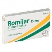 ROMILAR 15 mg COMPRIMIDOS, 20 comprimidos