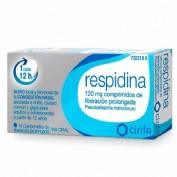 RESPIDINA 120 MG COMPRIMIDOS DE LIBERACION PROLONGADA, 14 comprimidos