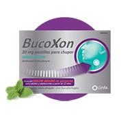 BUCOXON 20 MG PASTILLAS PARA CHUPAR SABOR MENTA ,18 pastillas