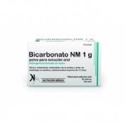 BICARBONATO NM 1 G POLVO PARA SOLUCION ORAL, 42 sobres
