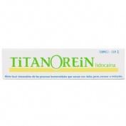 TITANOREIN LIDOCAINA CREMA RECTAL, 1 tubo de 20 g