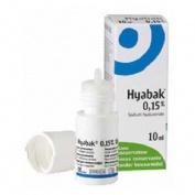 HYABAK 0.15% - SOLUCION HIDRATANTE PARA  LOS OJOS (10 ML)