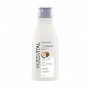 Mussvital essentials gel de baño con aceite coco (750 ml)