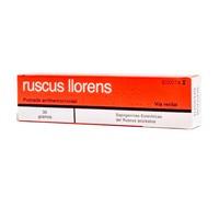RUSCUS LLORENS POMADA RECTAL , 1 tubo de 30 g